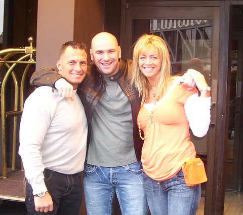 Me, Dana White & Stacy