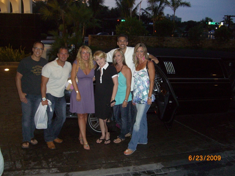 Limo's in Miami with Yoli