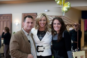 Mike Healy, Stacy Healy & Rebecca St James