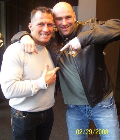 Mike Healy & Dana White