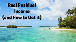 Real Residual Income and How to Get it (1)